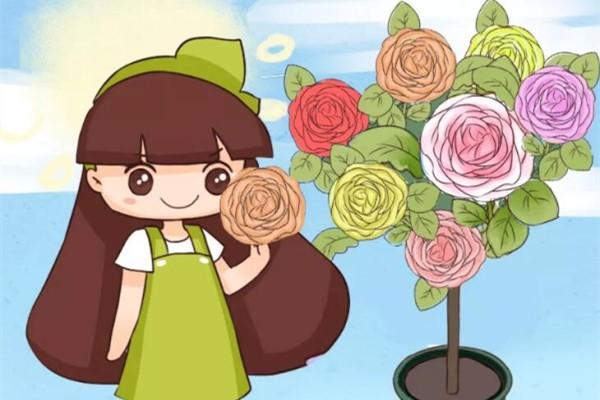 一花一色太单调,这花能开五种色,邻居全都跑来看!