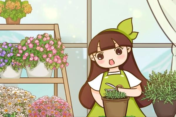 这花现在狠心剪,下月花苞满头,开花疯长刹不住闸!