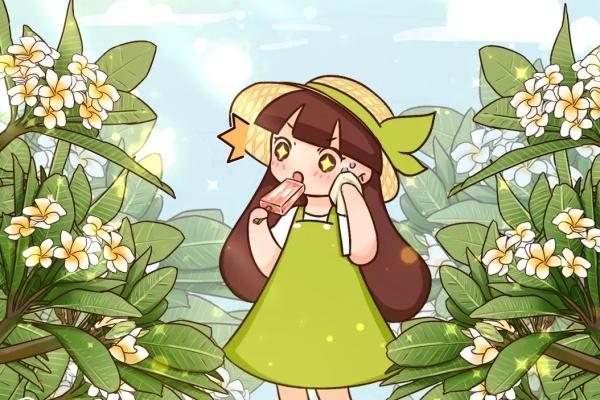 这花就爱夏天开,花朵像个大鸡蛋,黄灿灿特好看!