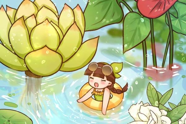 10种花最怕热,夏天养水里,才能活下来!