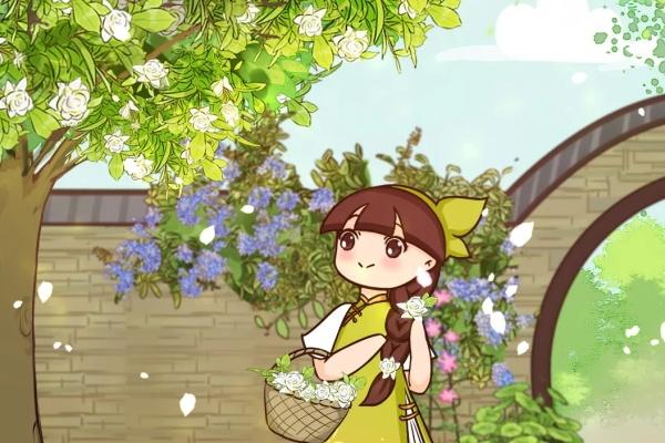 门口养棵大花树,风吹就开花,30年变成传家宝!