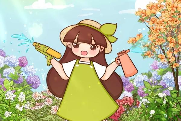 这花就怕乱浇水,夏天一盆水,死得透心凉!