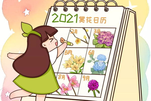 2021赏花日历,看好这一篇,不会错过花期~